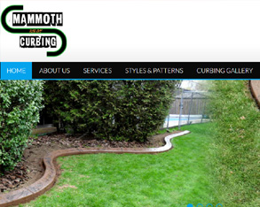 landscape edging site design. concreate edging site design, landscape curbing site design